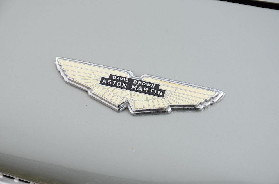 1961 Aston Martin DB4 Series II Sports Saloon  Chassis no. DB4/541/R Engine no. 370/555