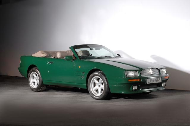 Formerly the property of HRH The Prince of Wales,1994 Aston Martin Virage Volante 6.3-Litre  Chassis no. SCFDAM2C9PBR60107 Engine no. 89/60107/M