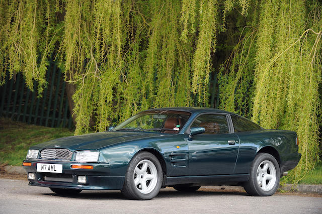 Formerly the property of Lennox Lewis,1994 Aston Martin Virage Limited Edition Coupe  Chassis no. SCFCAM2SXRBR50417 Engine no. LE/89/50417/A
