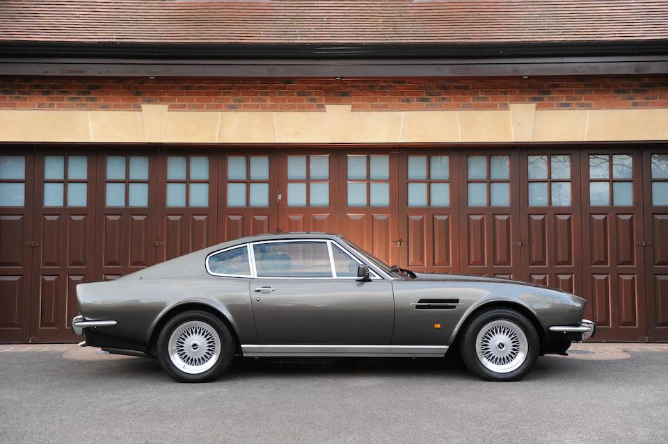 Bonhams 1987 Aston Martin V8 7 0 Litre Sports Saloon Chassis No Htr12565 Engine No V 585 2565