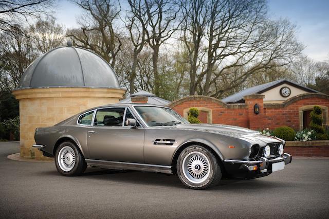 Bonhams Works Service Converted To Living Daylights 007 Replica 1985 Aston Martin V8 Vantage Saloon Chassis No Scfcv8159ftr12454 Engine No V 580 2454 S