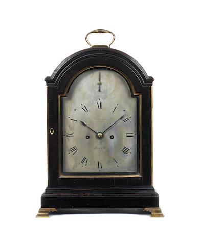 A Francomb bracket clock