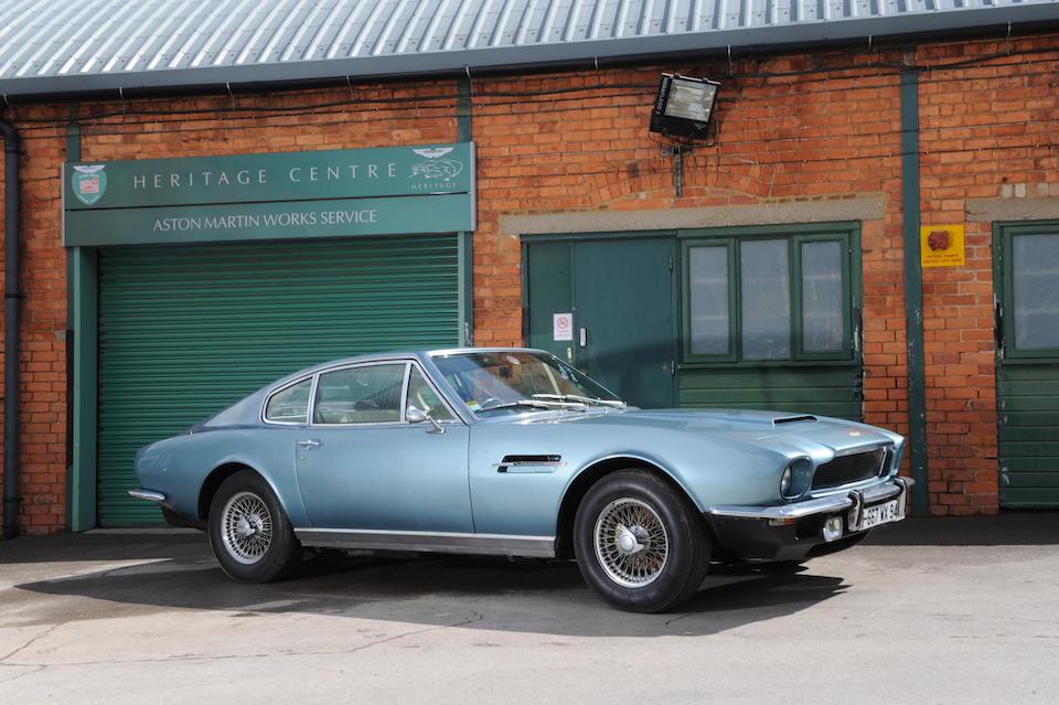 1972 Aston Martin Vantage Saloon  Chassis no. AM/6005/RA Engine no. 400/4921/SVC