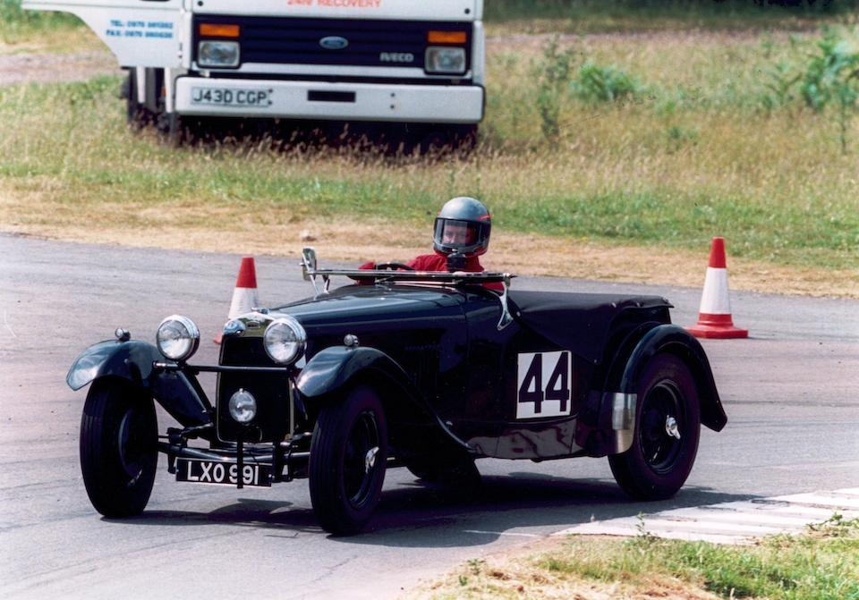 Sir Antony Pilkington's first car,1951 HRG 1500 Sports Two-Seater  Chassis no. W206 Engine no. C13255