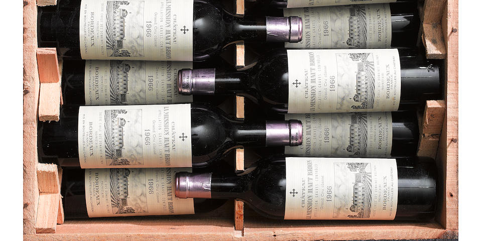 Chateau La Mission Haut Brion  1966 (12)