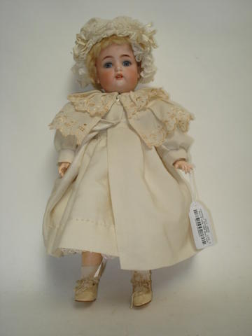 Simon & Halbig 1299 bisque head doll