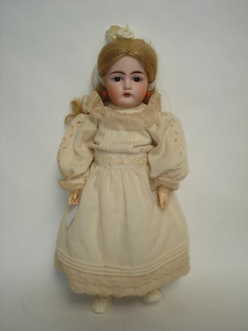Kestner 192 bisque head doll