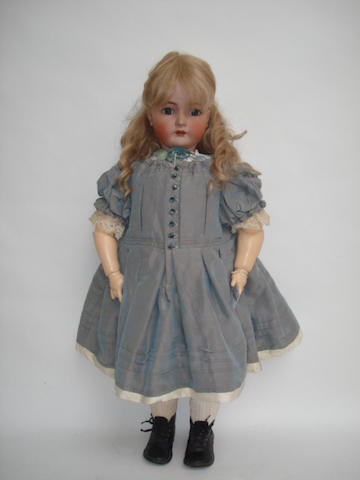Large Kammer & Reinhardt bisque head doll