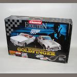 A James Bond 007 'Goldfinger' slot-car racing set, by Carrera Evolution,