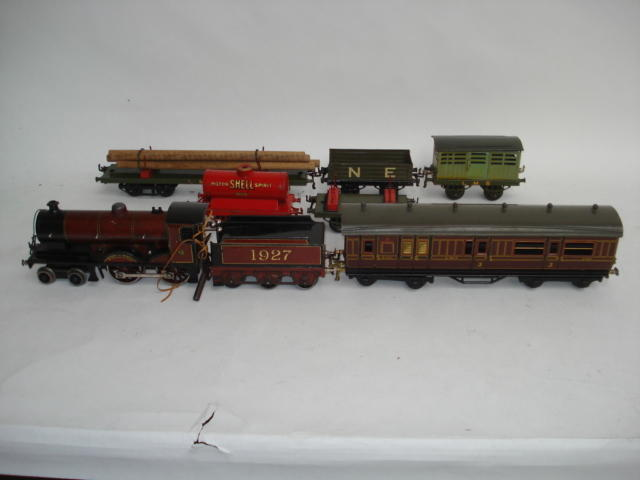 Bassett-Lowke c/w 4-4-0 Duke of York locomotive and tender 7