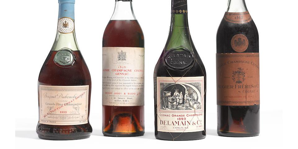Augier Frères Grande Champagne Cognac 1868 (1)