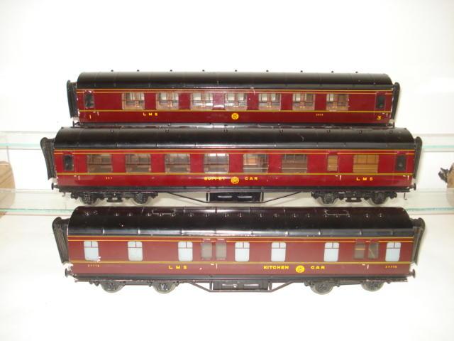 Three Exley passenger coaches 3