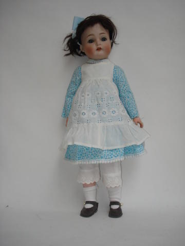 Simon & Halbig 403 bisque head doll
