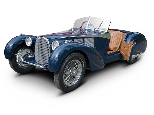 1938 Bugatti Type 57C 'Cäsar Schaffner Special Roadster'  Chassis no. 57.584/57.577 (see text) Engine no. C15