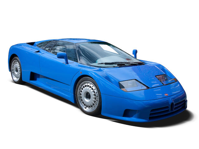 830kms from new,1992 Bugatti  EB110GT Coupé  Chassis no. ZA9AB01E0NCD39012