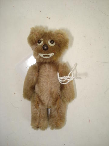 Miniature Schuco 'Janus' Teddy bear, German 1950's
