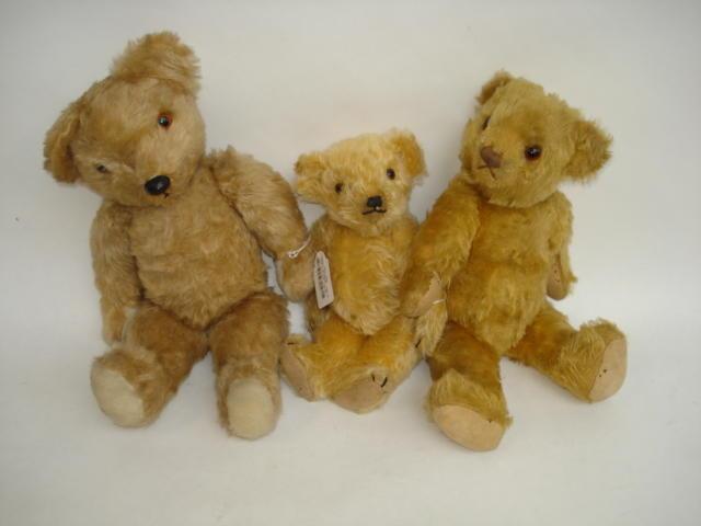 Deans 'mouse-eared' Teddy bear, 1930's 3