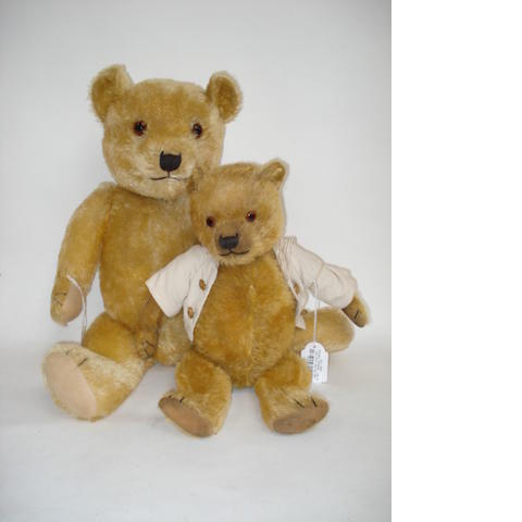 Large Chiltern Teddy bear, 1930's 2