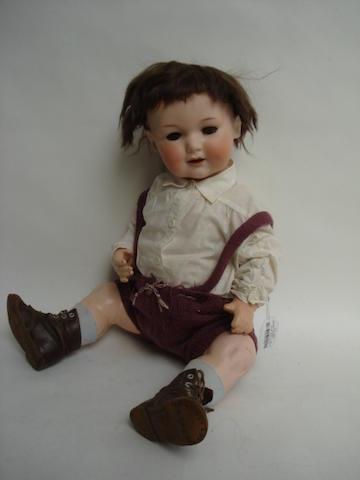 A.M 327 bisque head baby