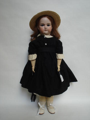 A.M bisque head doll