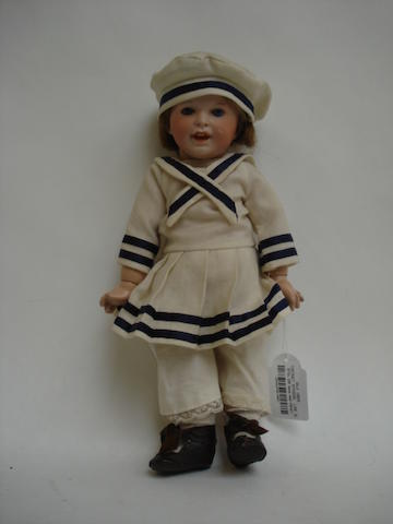 S.F.B.J 236 bisque head character doll