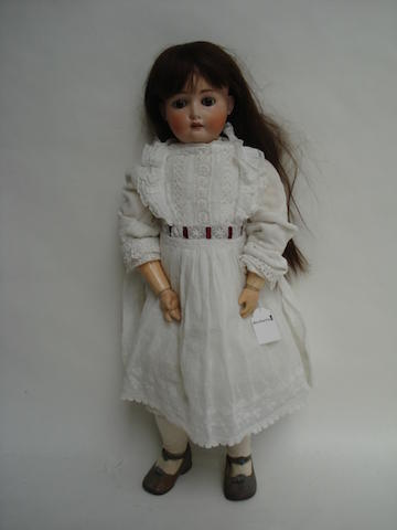 Kestner 168 bisque head doll