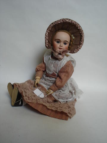 Limoges bisque head doll
