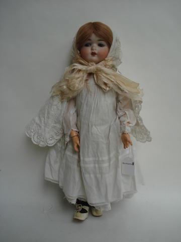 Recknagel 121 bisque head doll