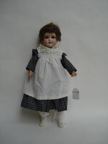 Schoenau & Hoffmeister 1909 bisque head doll