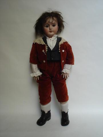 Large DEP bisque head doll