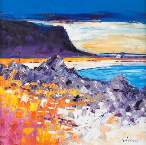 John Lowrie Morrison (British, born 1948) Quite Day Gribun, Mull