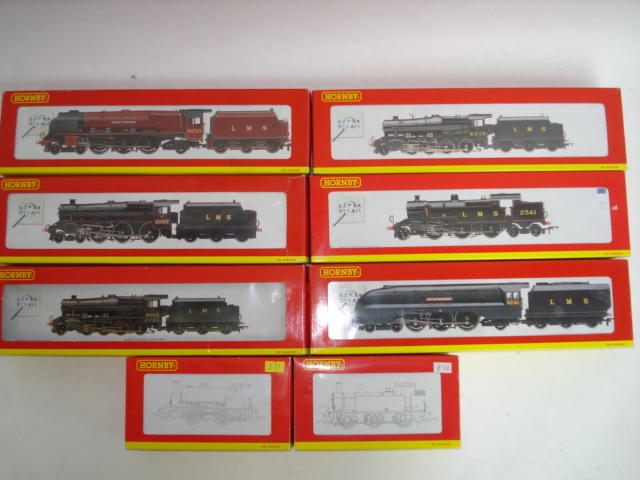 Hornby Super Detail LMS locomotives 8