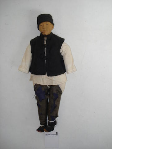 Door of Hope wooden missionary doll