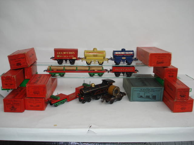 Hornby Series Crawford's Biscuits Private Owners van and other rolling stock lot