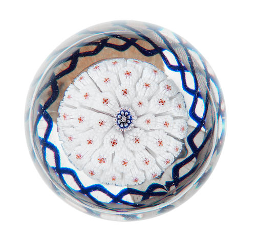 A Baccarat 'Bouquet de Marriage' paperweight