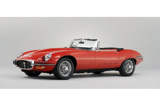 1974 Jaguar E-Type Series 3 V12 Roadster