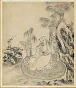 After Ding Yunpeng (1547-1628)  Eighteen Luohan