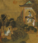 Attributed to Niu Zhen (Qing Dynasty) Beauties