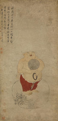 Attributed to Luo Pin (1733-1799) Amitabha Buddha