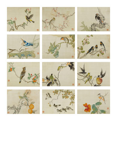 Fan Jinyong (1853-1914) Birds and Flowers