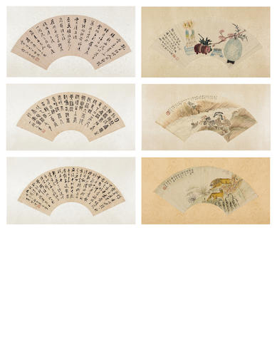 Various Artists (18th to 20th Century) Landscape, Flowers, Animals and Calligraphy