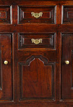 A George II oak high dresser North Wales, Caernarfonshire, circa 1730-50