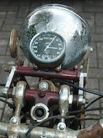 Property of a deceased's estate,1938 Triumph 498cc Speed Twin Frame no. TH 6453 Engine no. 812999