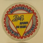 Three Automobile Club de L'Ouest 24 Hour Le Mans items,
