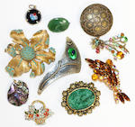A large quantity of mixed costume jewellery,