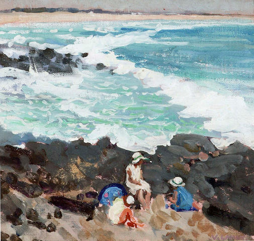 Vida Lahey (1882-1968) The Shell Gatherers c. 1930
