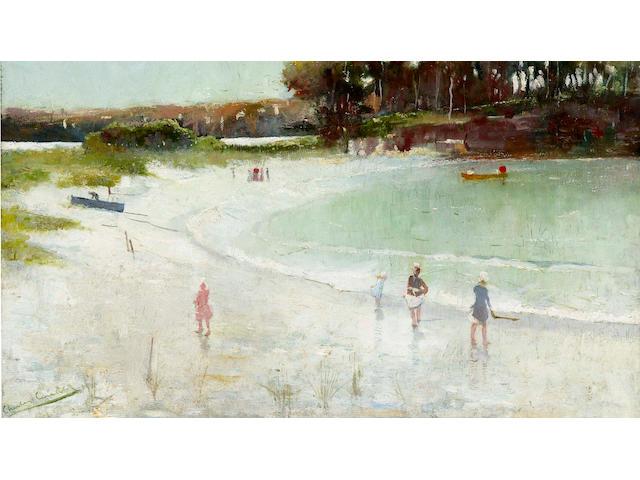 Charles  Conder (1868-1909) Balmoral Beach 1888