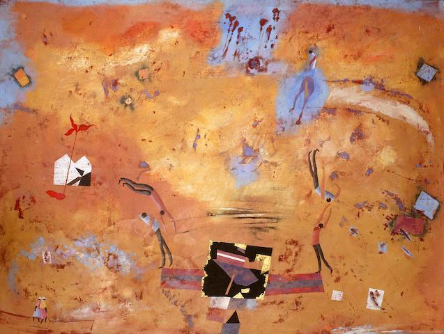 Robert Juniper (born 1929) Balancing Act 1988