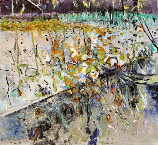 Fred Williams (1927-1982) Kew Billabong III 1977