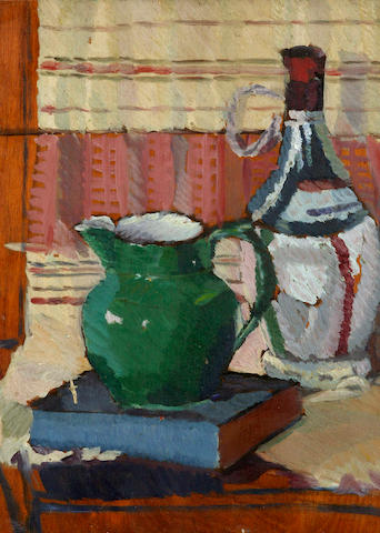 Roy De Maistre (1894-1968) Still Life with Green Jug